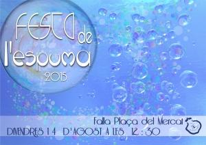 festa espuma 2015 DEFINITIVO